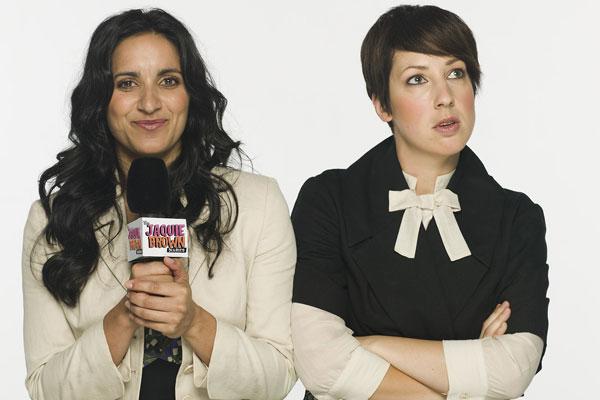 Serita (Madeleine Sami) and Jaquie