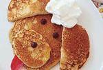 Peanut Butter Poodle Pancakes