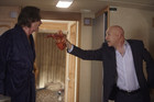 Rick Springfield and Evan Handler in Californication 'Dr. Bad Example' Season 3 Episode 9.