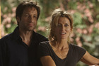 Hank Moody and Karen in Californication 'Mia Culpa' - Season 3, Episode 12.