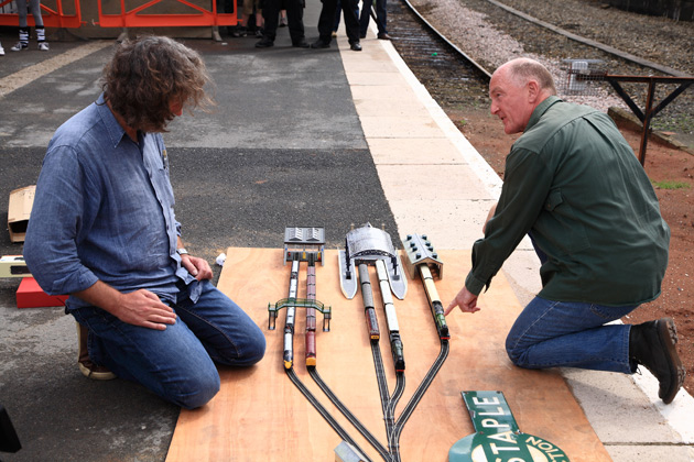 James May's Toy Stories - the Hornby model trains episode.