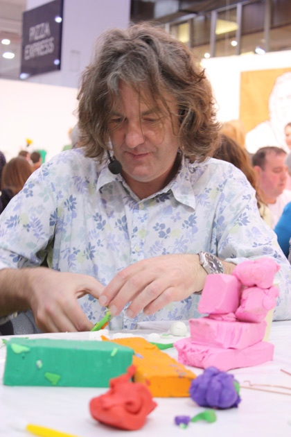 James May gets creative with Plasticine.