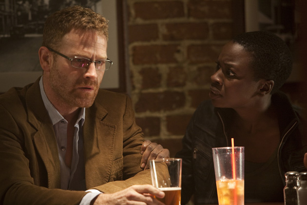 (L-R): Gillian Foster (Kelli Williams) and Dave Burns (Max Martini) in Lie To Me 'Exposed' - Season 2, Episode 20.