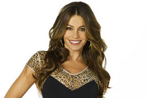 Sofia Vergara as Gloria in Modern Family.