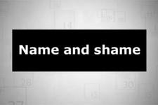 name and shame