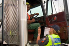 A dangerously overloaded truck is stopped whilst carrying a Kauri Stump; an officer is forced to chase an offender through a car-park; and Constables pull over a car-load of opinionated youths.captions availableHDOn Demand