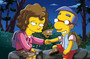 Milhouse finds love in Homer Scissorhands