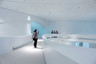 Leonardo Glass Cube interior.