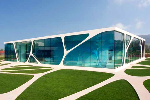 Leonardo Glass Cube.