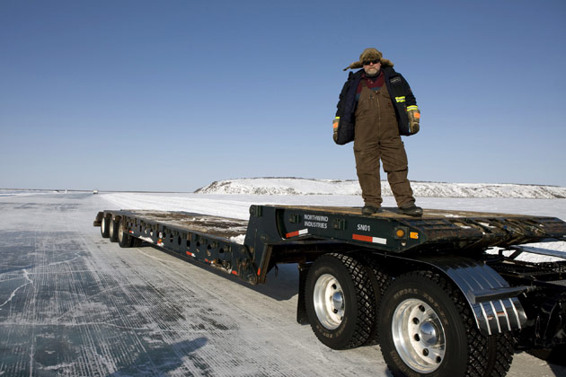 Ice Road Truckers Photo.