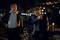 (L-R): Sam Tyler (Jason O'Mara) and Lieutenant Gene Hunt (Harvey Keitel).