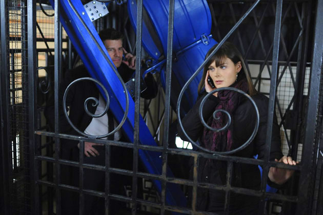 Bones - The Blackout In The Blizzard - Season 6, Episode 16 - Photo.