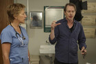 Steve Buscemi directs Edie Falco in Nurse Jackie