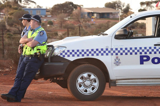 Kalgoorlie Cops Photo.