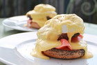 Smoked Salmon Bagel Eggs Benedict