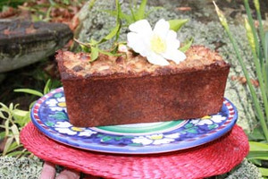 Feijoa and Macadamia Nut Loaf