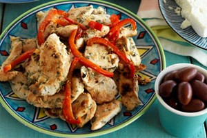 Greece: Crete - Oregano & Lemon Chicken with Pita Bread