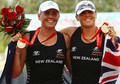 28 - Evers-Swindell twins retain Olympic rowing crown: Double Scull
