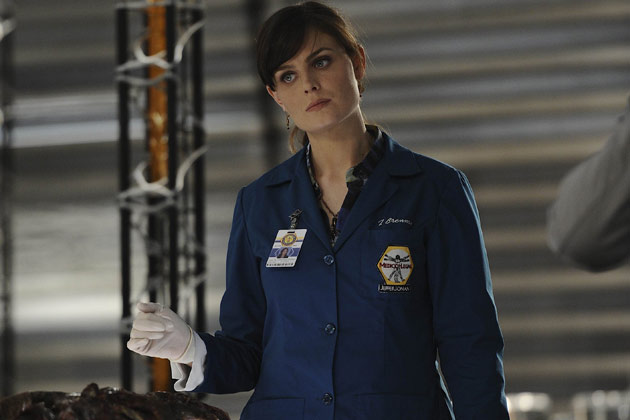"Dr. Temperance 'Bones' Brennan (Emily Deschanel) in ""The Hole In The Heart""."