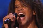 Siameze Floyd singing on The X Factor USA.