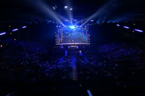 The Crowd At The X Factor USA auditions.