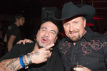Safe to say Vino Alan and Tate Stevens are having fun!