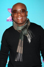 L.A. Reid walks the press line at the X Factor Top 12 party in Hollywood.