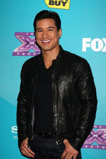 Mario Lopez arrives at the X Factor Top 12 party in Hollywood.