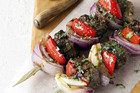 Coriander-Spiced Kebabs