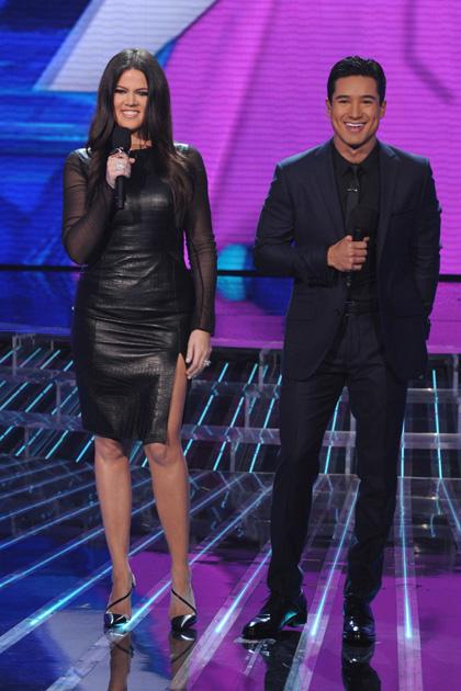 Khloe Kardashian Odom and Mario Lopez.
