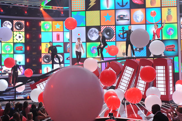 One Direction+Big Balloons=Fun Times!