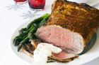 Roast Beef with Tarragon Cream