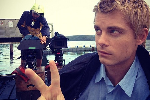 Behind the scenes with Luke Mitchell