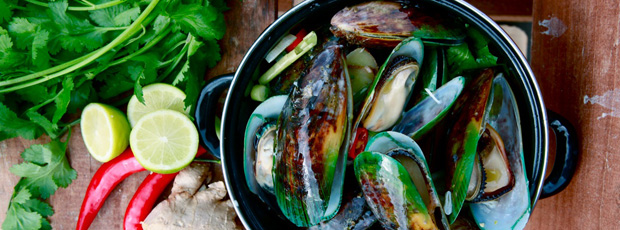 Mussels Thai style