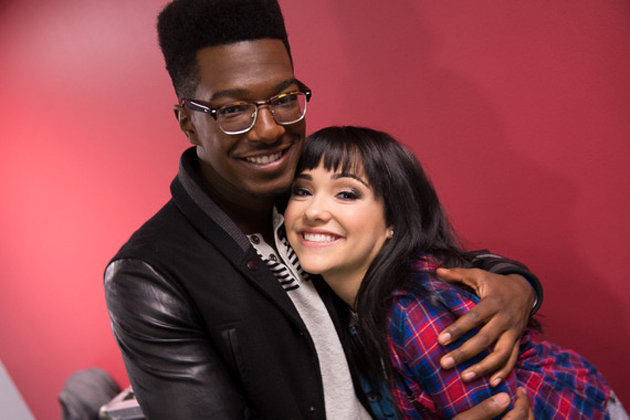 Willie Jones and Jennel Garcia