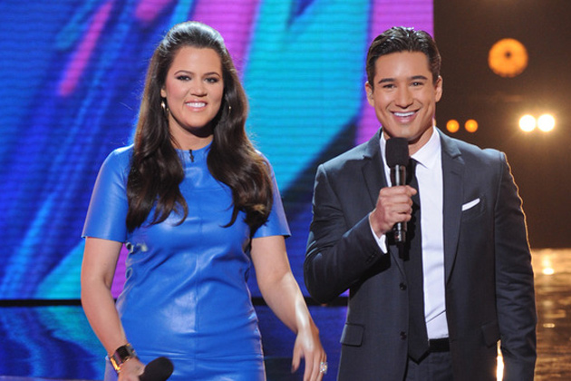 Khloe Kardashian Odom and Mario Lopez: Happy on elimination night?
