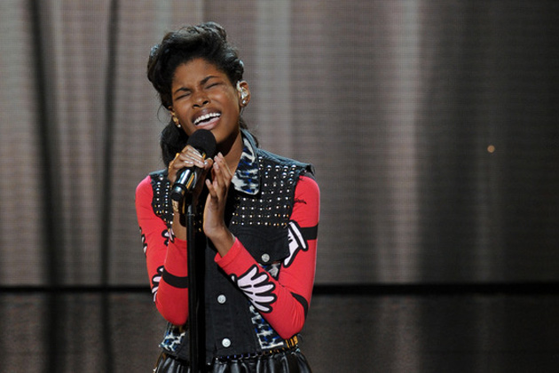 Diamond White sings for survival and gets booted by Britney.
