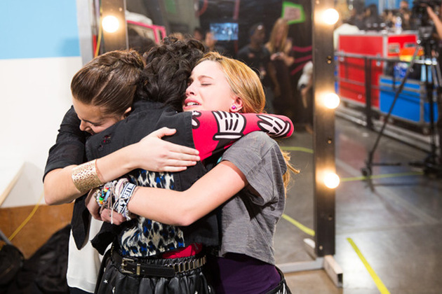 Carly Rose Sonenclar, Diamond White, and Beatrice Miller
