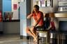Romeo waits for Dex at the hospital