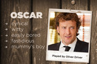 Oscar played by Oliver Driver