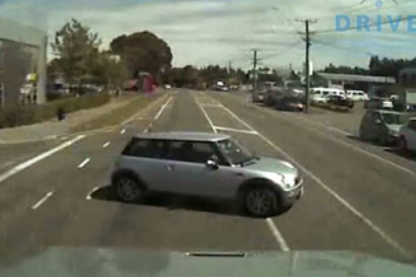 A near-miss Mini