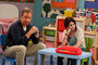 "(L-R): Mike (Tim Allen) and Kristin (Alexandra Krosney) in ""Grandparent's Day."""