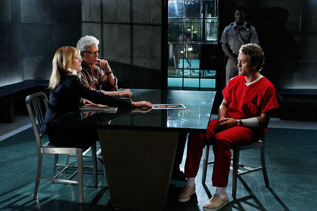 A scene from CSI: Crime Scene Investigation - Tell-Tale Hearts - Season 12, Episode 2