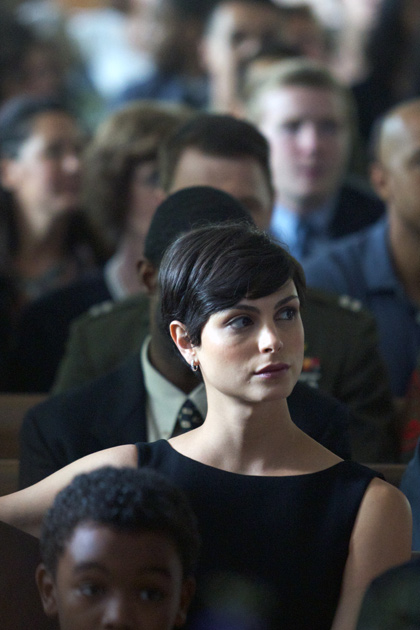 "Jessica Brody (Morena Baccarin) in ""The Good Soldier."""
