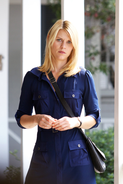 "Carrie Mathison (Claire Danes) in ""The Good Soldier."""