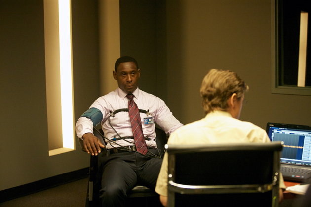 "David Estes (David Harewood) in ""The Good Soldier."""