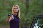 "Carrie Mathison (Claire Danes) in ""The Weekend."""
