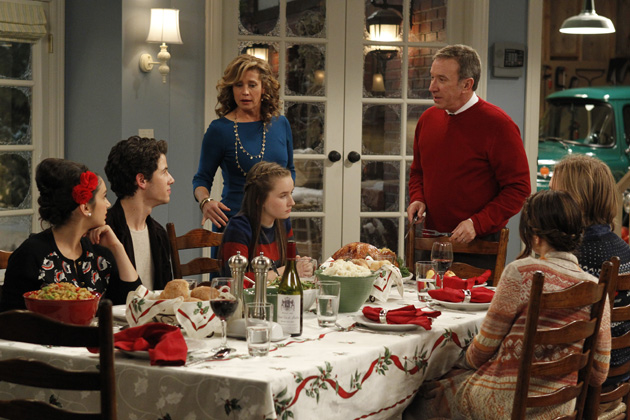 A scene from Last Man Standing - Last Christmans Standing - Season 1, Episode 10