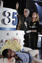 A scene from CSI - Crime After Crime - Season 12, Episode 8