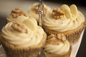 Hayley's Ginger Cupcakes with Caramel Icing